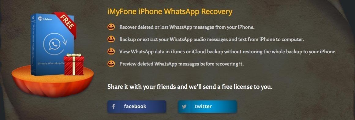 Scaricate gratis 2 software per backup e recupero dati su iPhone e WhatsApp