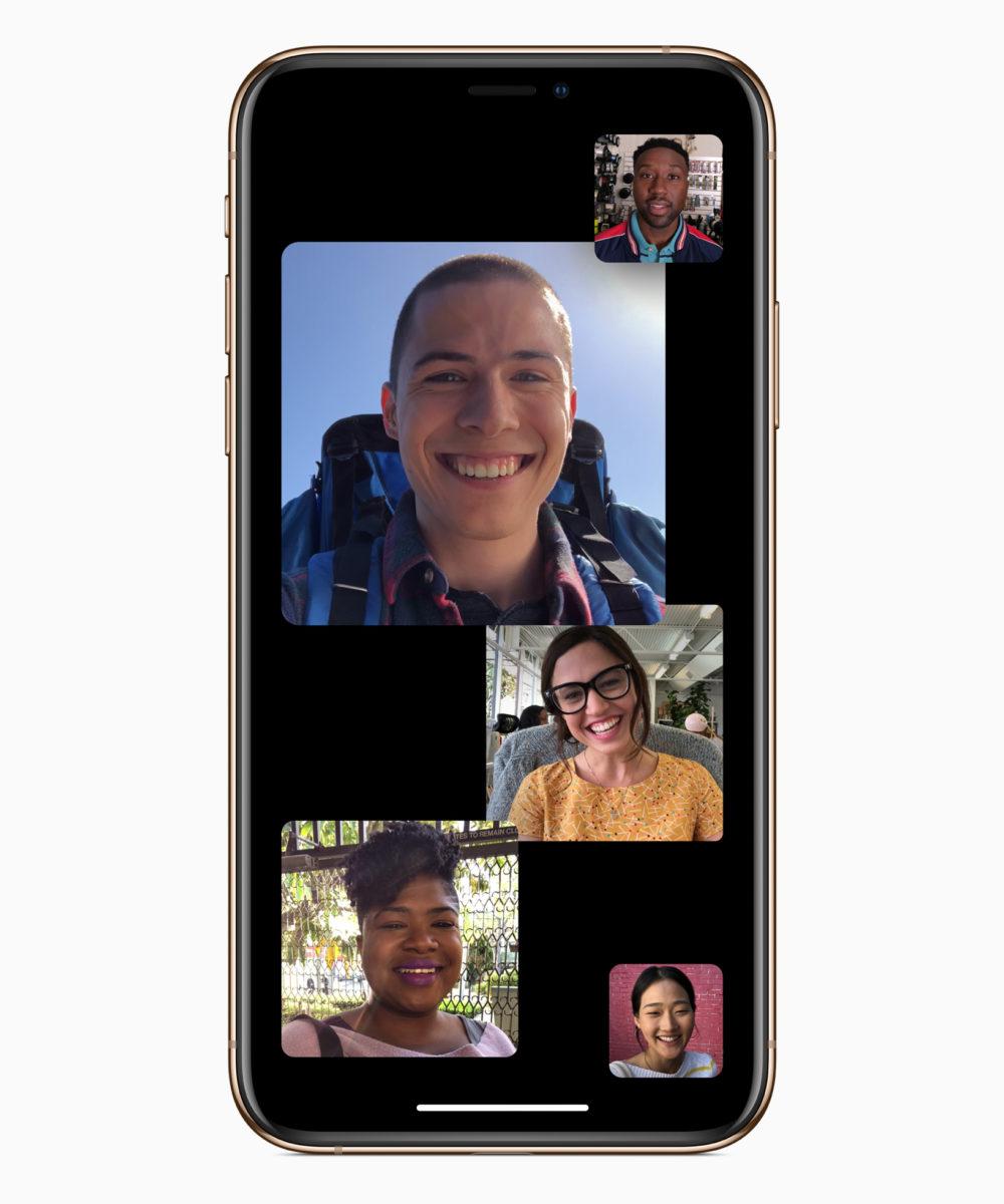 Chiamate FaceTime di gruppo