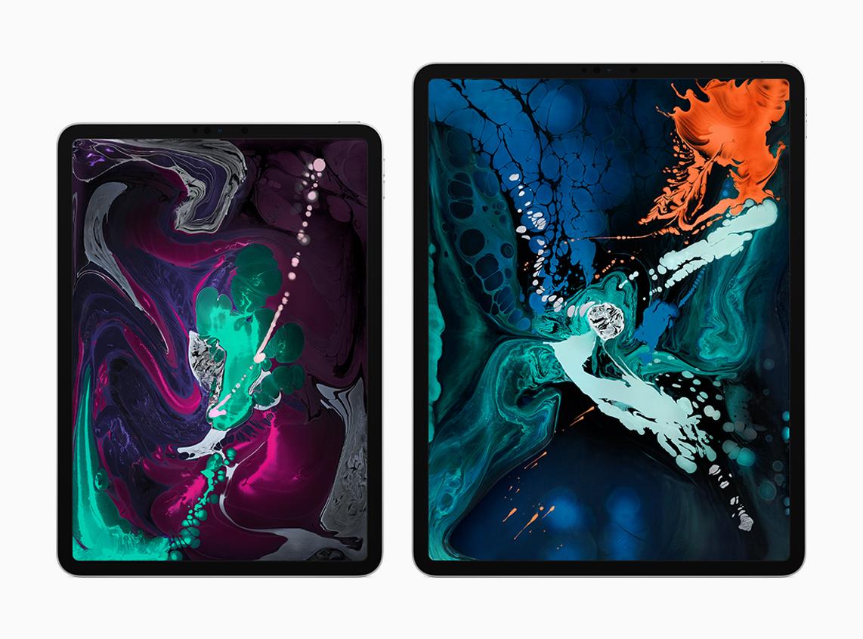 I due iPad Pro nelle loro due differenti dimensioni