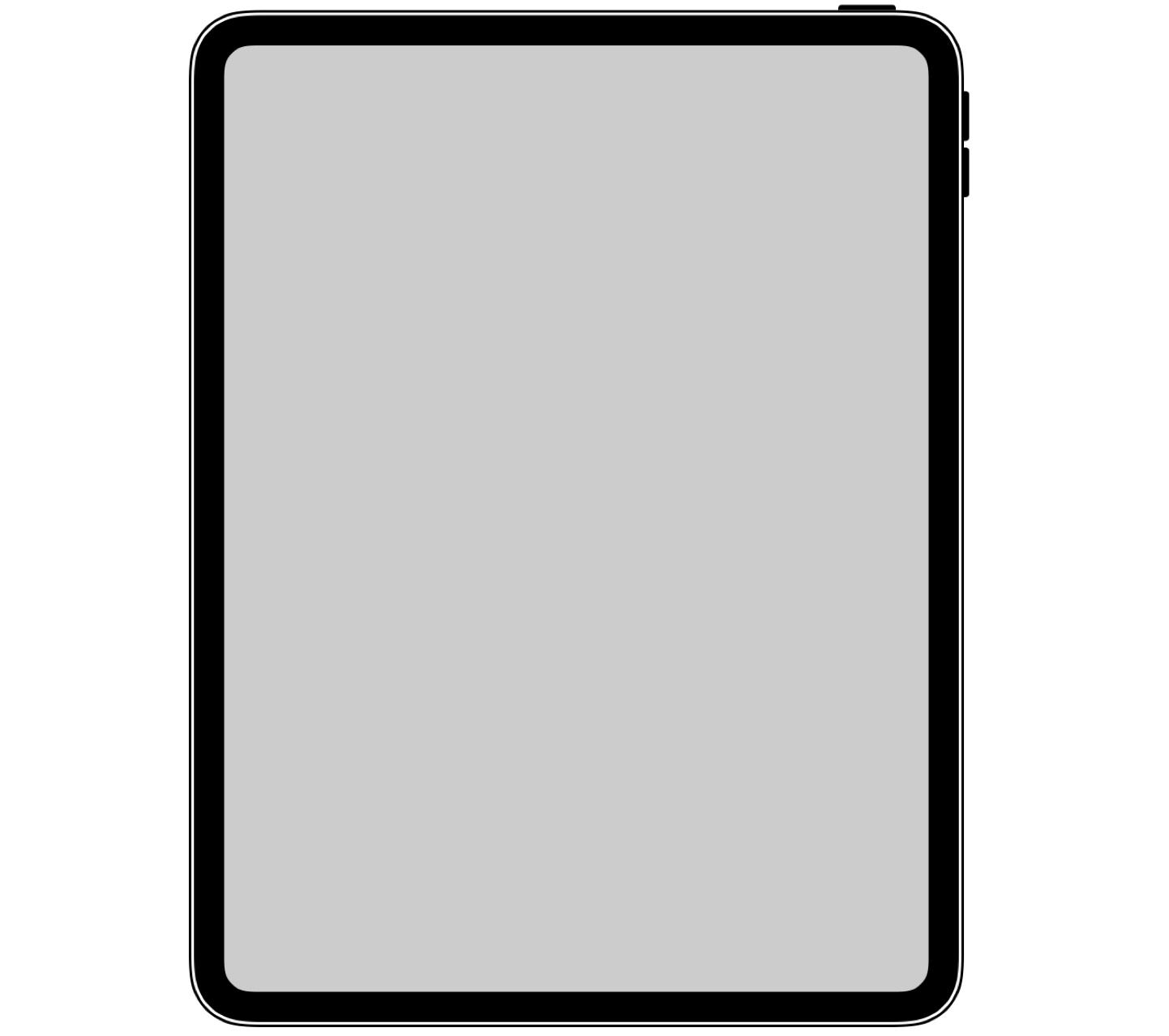 Un'icona nascosta in iOS mostra il nuovo iPad Pro senza tasto Home