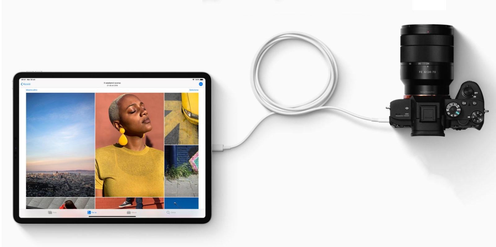 Porta USB-C iPad Pro