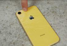 iPhone XR sembra davvero resistente, ecco test di caduta e torture varie