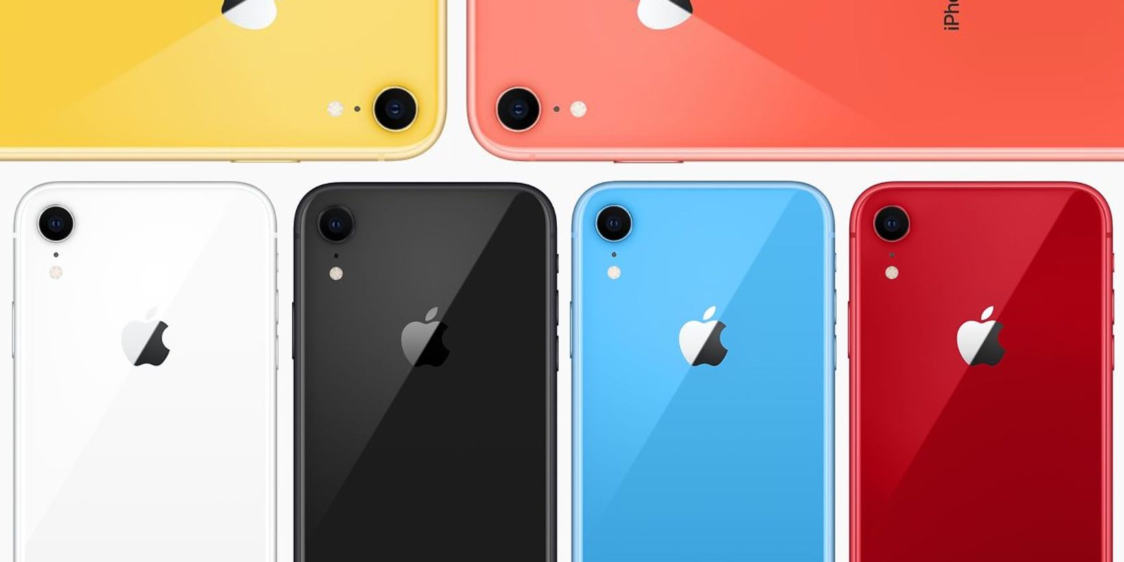 iPhone XR arranca - foto iphone xr colori