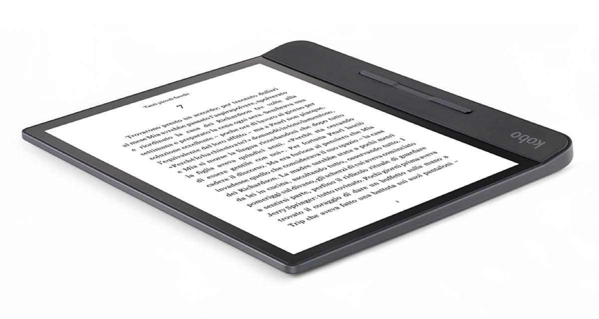 Kobo Forma, l'eReader che strizza l'occhio al Kindle Oasis