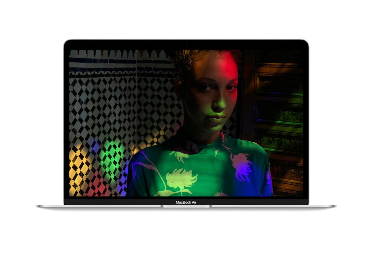 Lo schermo del MacBook Air 2018