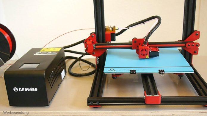 Alfawise U20, la stampante 3D con schermo touch a soli 260 euro