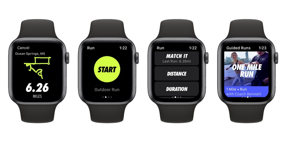 Nike+ Run Club adesso ottimizzata per Apple WAtch 4