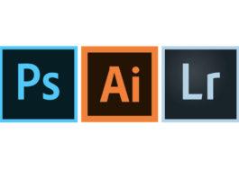 Photoshop, Illustrator e Lightroom