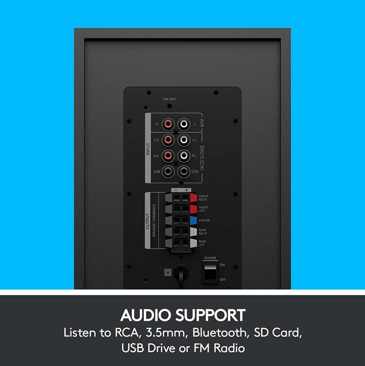 Logitech Z607: ecco il sistema audio Surround 5.1 per tutti