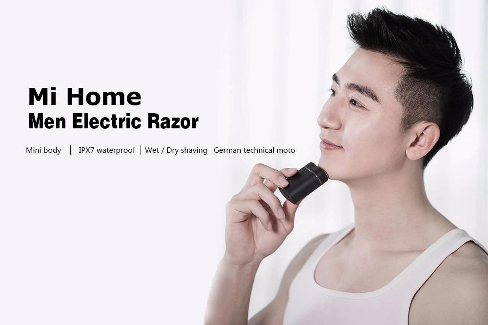 Rasoio elettrico Xiaomi Youpin USB-C da viaggio impermeabile: solo 16 euro
