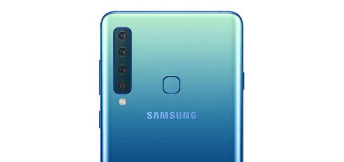 Samsung Galaxy A9, ecco il primo smartphone al mondo con 4 telecamere posteriori