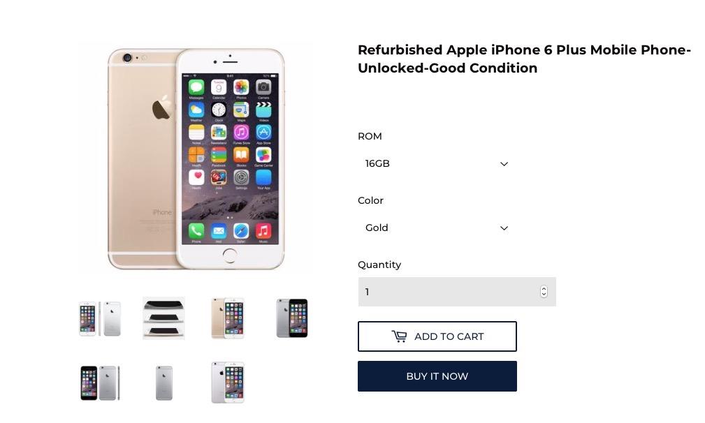 iPhone 6 Plus a prezzi assurdi: con codici sconto a 221 euro