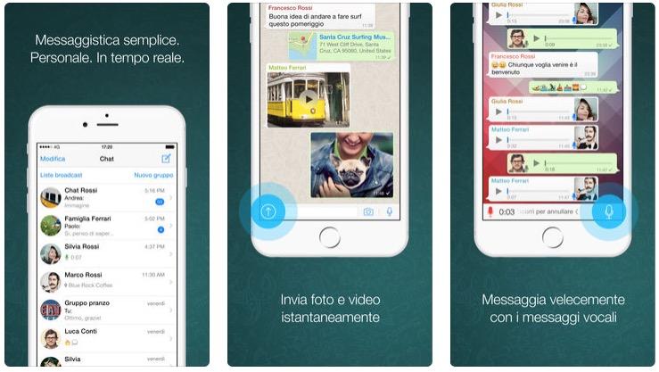 Aggiornamento WhatsApp, ora con supporto iPhone XS Max e altre novità
