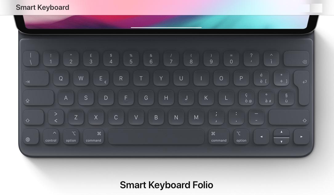 Smart Keyboard Folio, e Smart Folio per iPad Pro 2018 disponibili al pre ordine