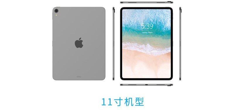 iPad Pro 2018 potrebbe essere spesso 5,9 mm senza jack cuffie