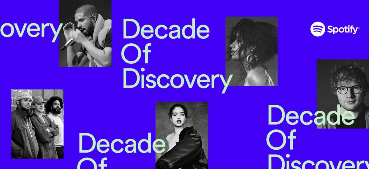 Spotify compie 10 anni, svela gli artisti e le canzoni più ascoltati in assoluto