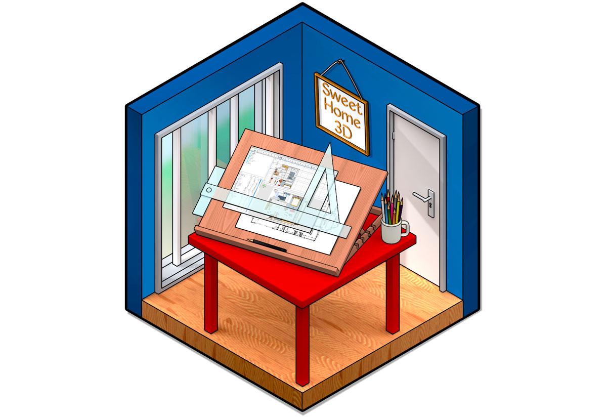 sweet home 3d disponibile la versione 6 del software mac per la progettazione di interni. Black Bedroom Furniture Sets. Home Design Ideas