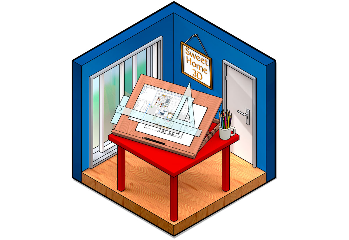 sweet home 3d disponibile la versione 6 del software mac. Black Bedroom Furniture Sets. Home Design Ideas