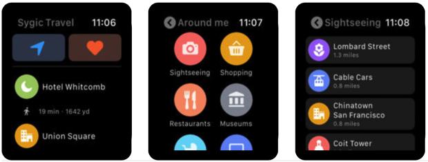 Sygic Travel porta le mappe su Apple Watch, con itinerari