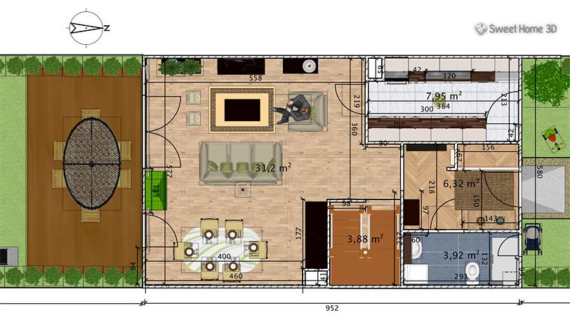 Sweet home 3d disponibile la versione 6 del software mac for Software progettazione interni 3d