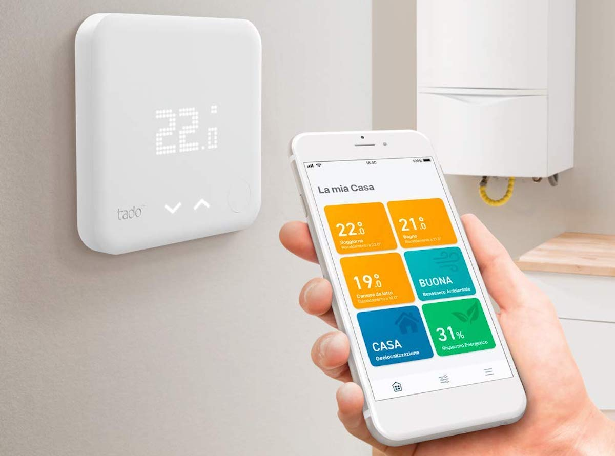 Schema Collegamento Di Termostati A Elettrovalvole E Caldaia : Recensione termostato smart tado° e valvola termostatica smart