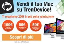 TrenDevice acquista il vostro Mac e vi regala 200€ in più sulla valutazione