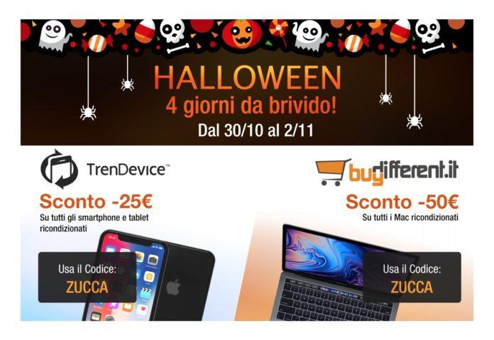 Speciale Halloween su TrenDevice e BuyDifferent: 4 giorni di sconti da brivido!
