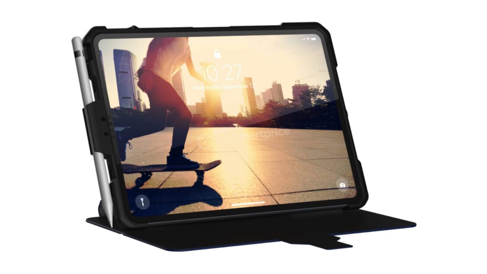 La cover iPad Pro 2018 ne mostra un design a tutto schermo