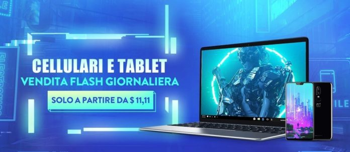 Smartphone, tablet e lapotop a soli 9 euro per la Festa dei Single di Gearbest