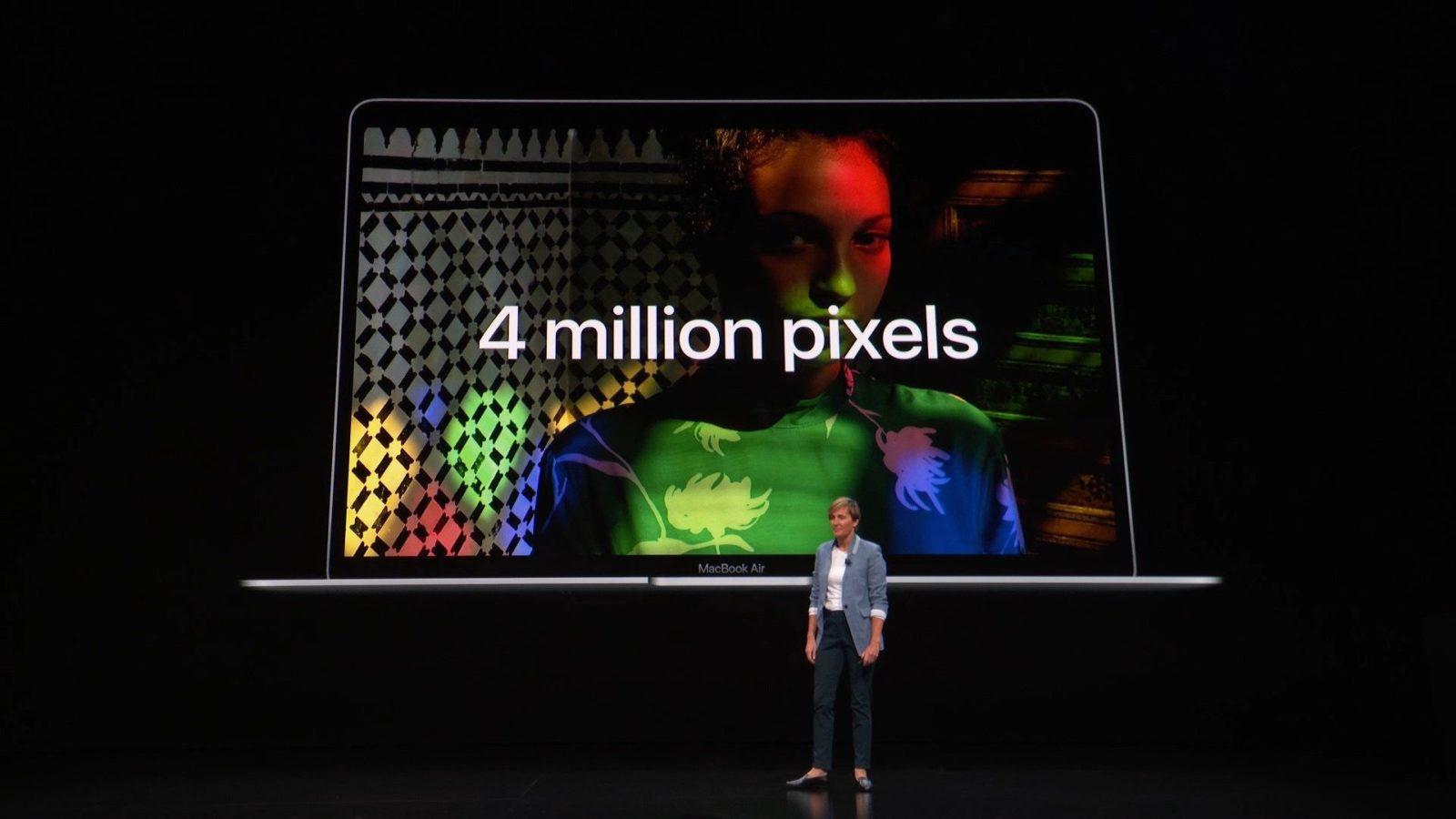 La presentazione del MacBook Air 2018 da 13″
