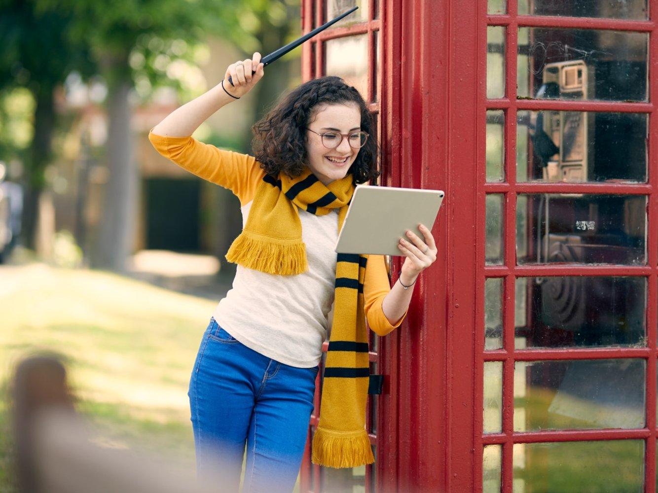 bacchetta harry potter foto Gli Apple Store venderanno la bacchetta smart di Harry Potter