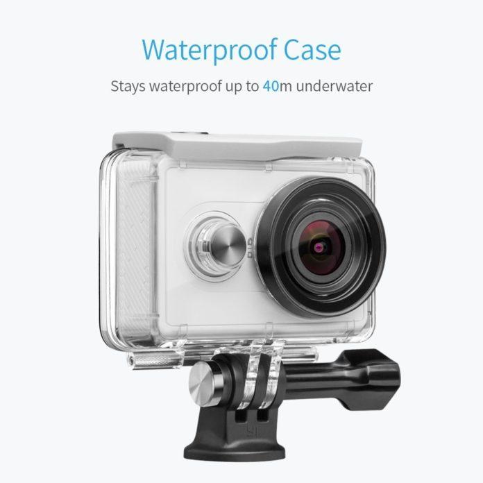 Yi Action cam con cover subacque, torna l'offerta a 38 euro