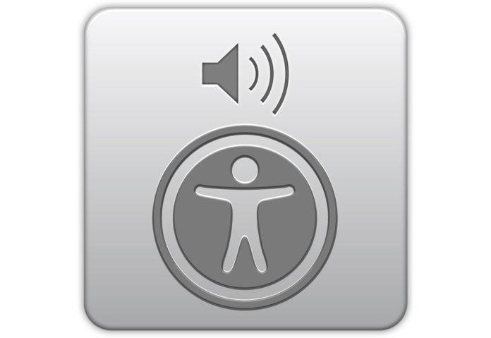 Icona Accessibilità Apple