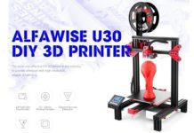 Alfawise U30, la stampante 3D con schermo touch