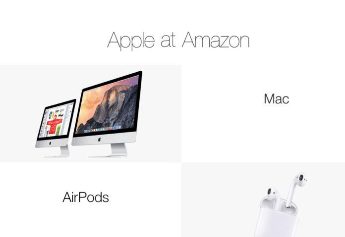 Negli USA è già pronto il negozio di Apple su Amazon