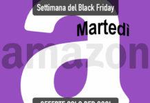 Settimana del Black Friday su Amazon: le offerte del martedì