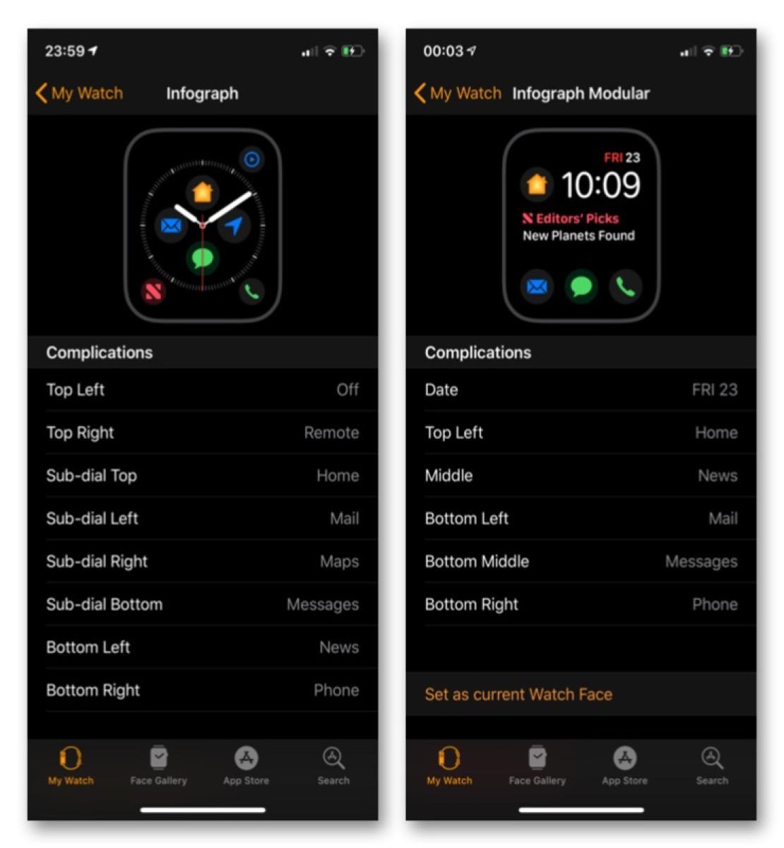 Apple Watch 4, in arrivo sette nuove Complicazioni