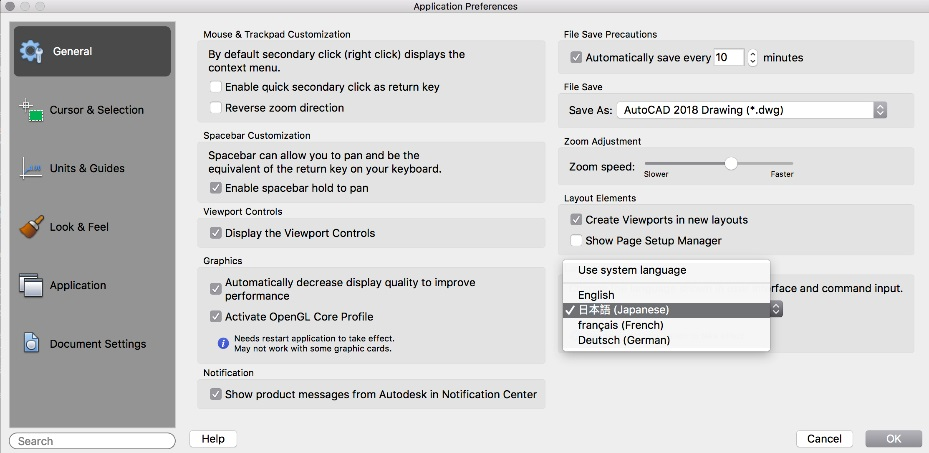 Disponibili AutoCAD 2019 e AutoCAD LT 2019 per Mac