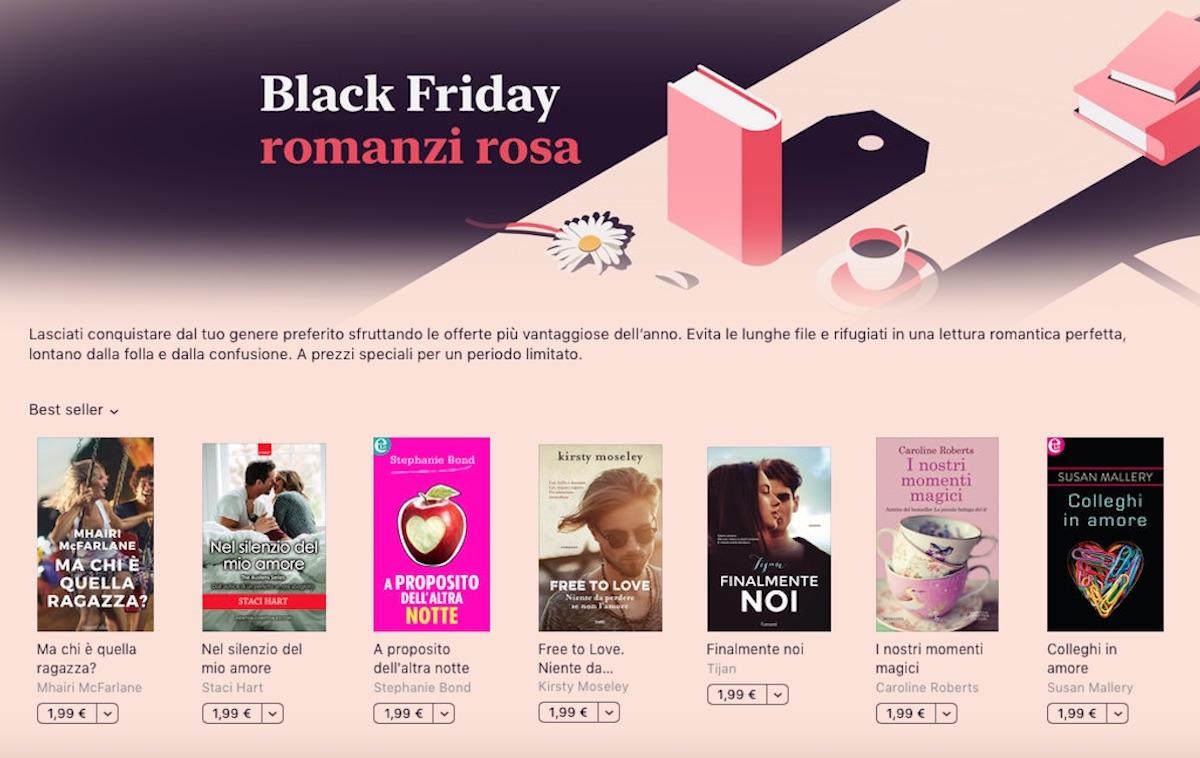 Il Black Friday su Book Store è per lettori appassionati di gialli, narrativa e romanzi rosa