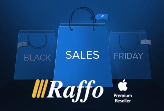 E' tempo di Black Friday anche da Raffo: 10% di sconto su tutti i Mac