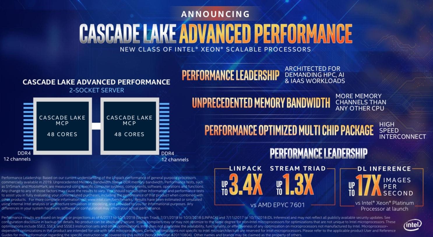Due nuovi processori Xeon da Intel