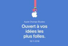 Il negozio Apple sugli Champs-Élysées aprirà il 18 novembre