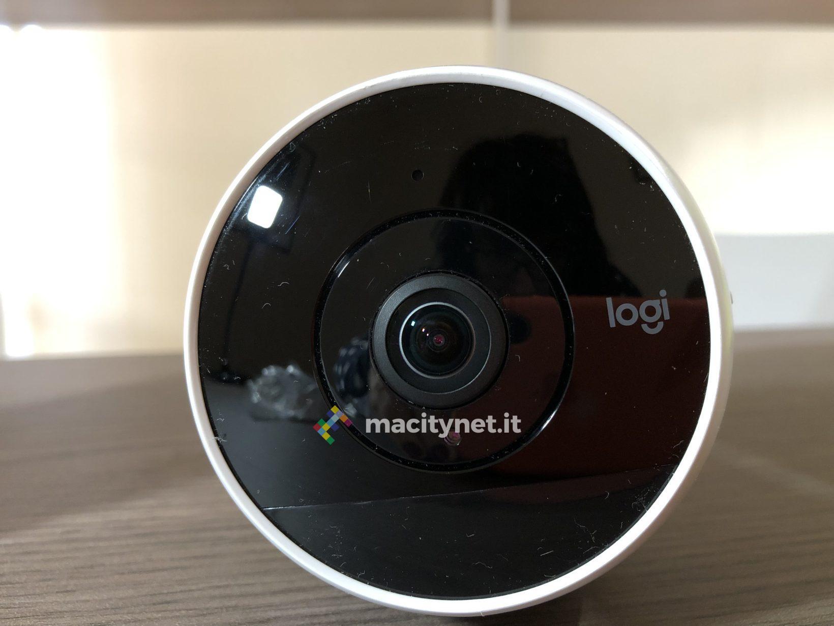 Recensione Logitech Circle 2, la sicurezza a tutto tondo