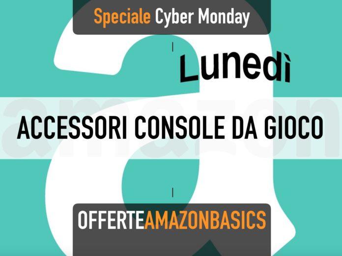 Accessori per console a marchio AmazonBasics in offerta per il Cyber Monday