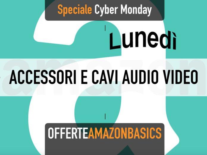 Cavi USB e accessori ufficio AmazonBasics in offerta per il Cyber Monday