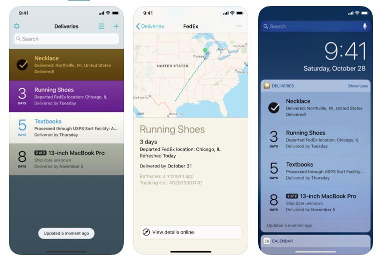 Deliveries, le spedizioni su iPhone si controllano adesso con Siri