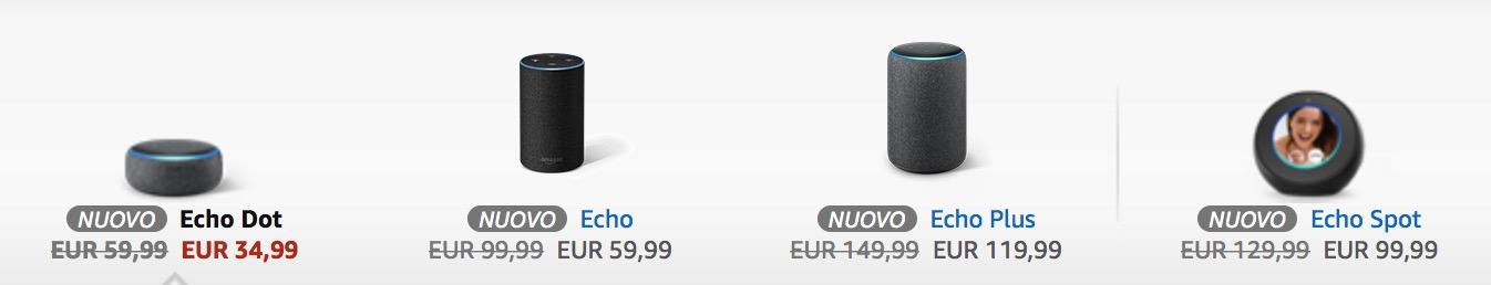 I bundle Echo di Amazon Alexa: quando il kit costa meno del solo smart speaker