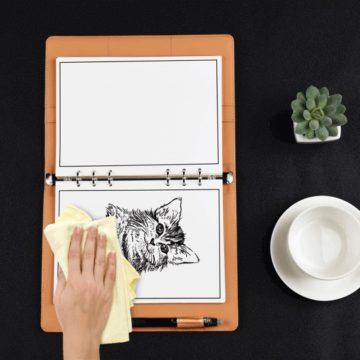 Elfinbook 2.0, il taccuino smart riscrivibile, ecologico e scansionabile via smartphone