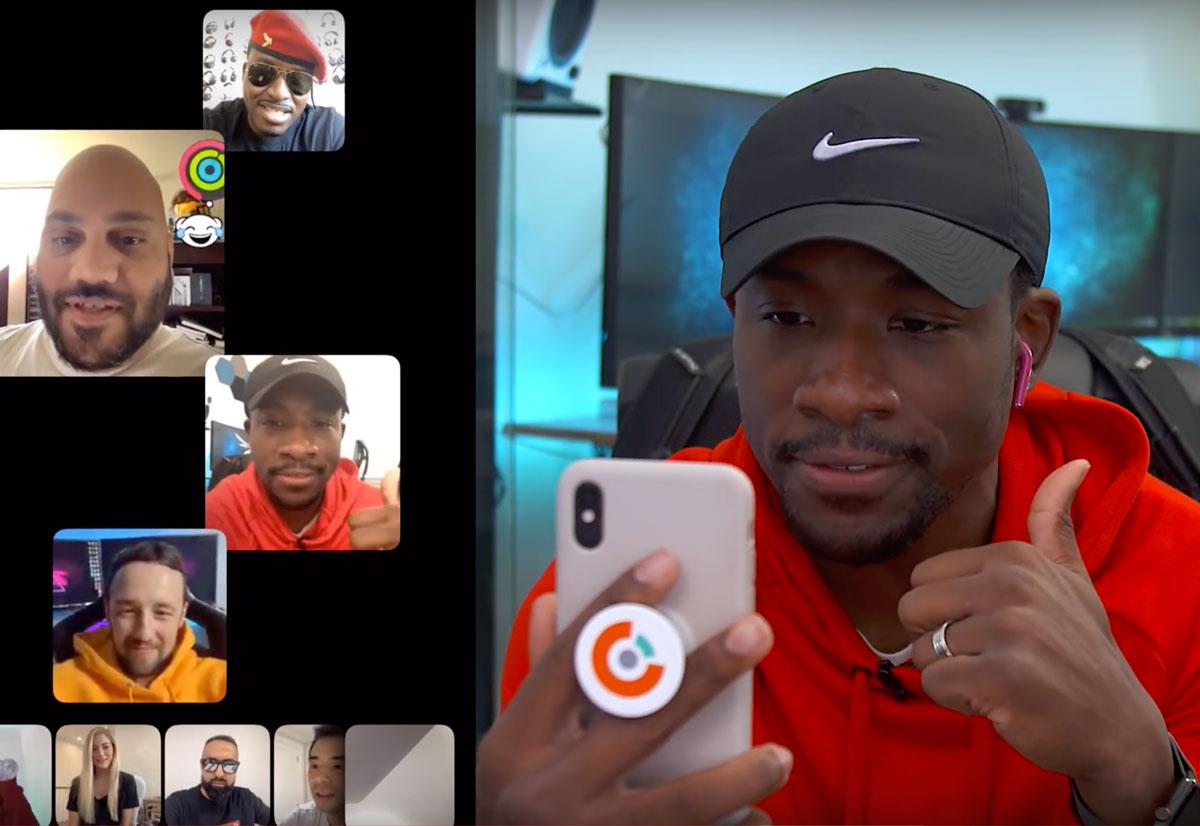 Un test tra YouTubers mostra le chiamate FaceTime di gruppo con 30 persone