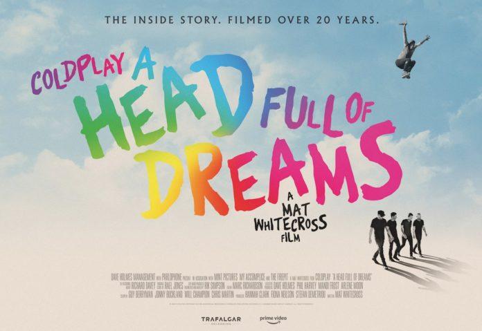 """Il film dei Coldplay """"A Head Full of Dreams"""" in arrivo su Amazon Prime Video"""